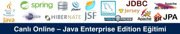Online – Java Enterprise Edition) Eğitimi