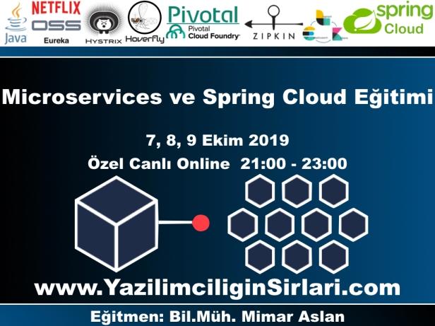 Microservices ve Spring Cloud Eğitimi
